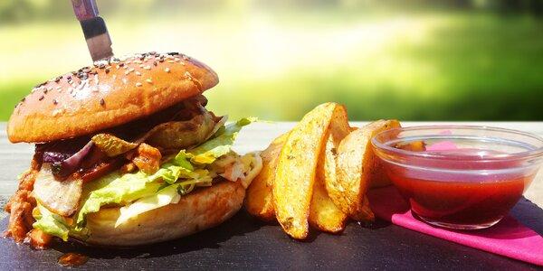 Burger na Ladronce pro 1 nebo 2 osoby