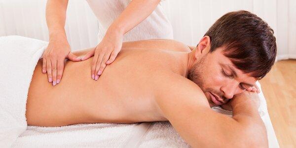 Trigger points: terapeutická masáž zad a šíje