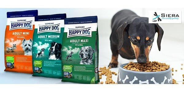 Granule Happy Dog pro psy malých i velkých plemen