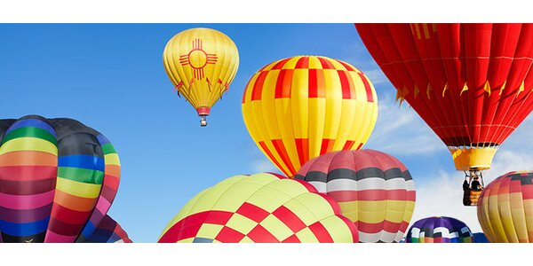 Hodinový let v horkovzdušném balonu - super zážitek