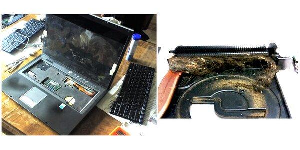 Kompletní vyčištění Notebooku nebo PC