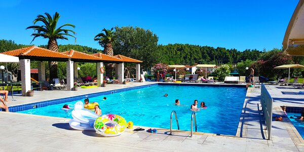 Letecky na Chalkidiki: 4* hotel s all inclusive