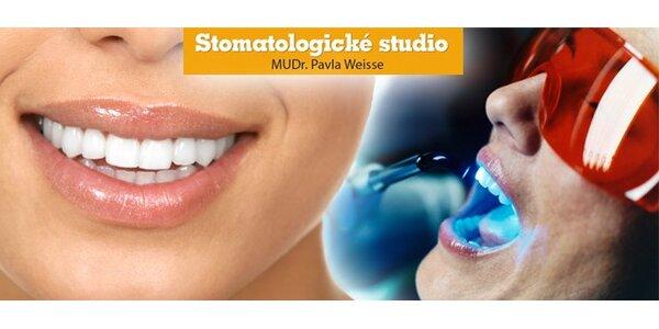 1490 Kč za ordinační bělení zubů, dopřejte si krásný úsměv!