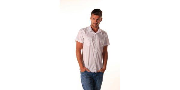 Pánská bílá košile Celop