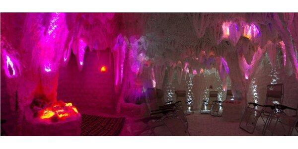 149 Kč za DVA vstupy do solné jeskyně Brighite.