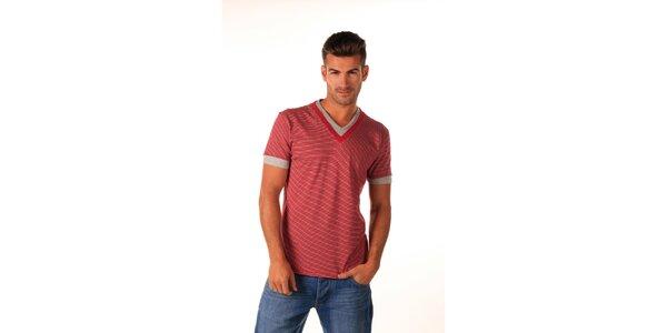 Pánské červené námořnické tričko Celop