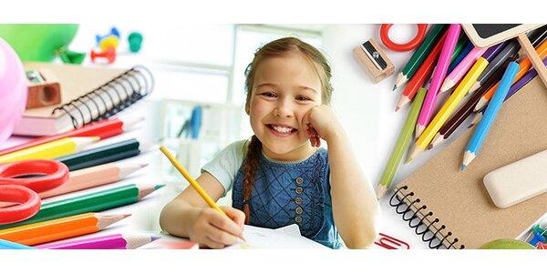 Zpátky do školy - nakupte sešity a tužky s 50% slevou v papírnictví