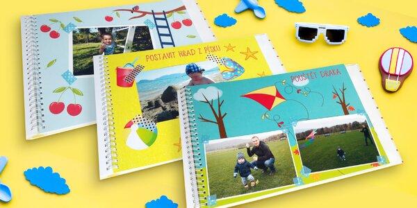 Fotokniha 30 vzpomínek na šťastné dětství