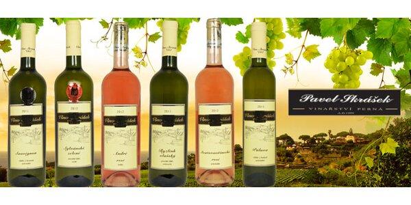 6 vín z moravského rodinného vinařství