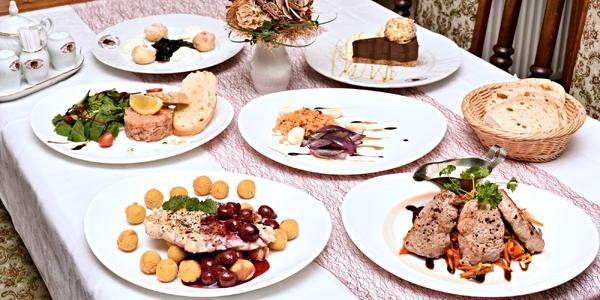Degustační menu pro 2, výběr chodů ze 3 jídel
