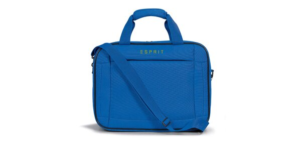 Dámská modrá taštička do letadla Esprit
