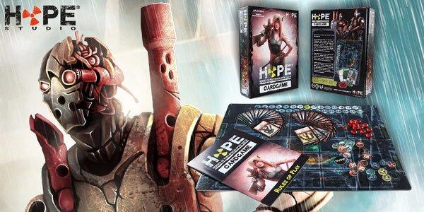 Dobrodružná postapokalyptická karetní hra HOPE