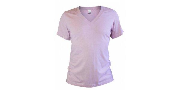 Pánské světle růžové tričko Mosmann