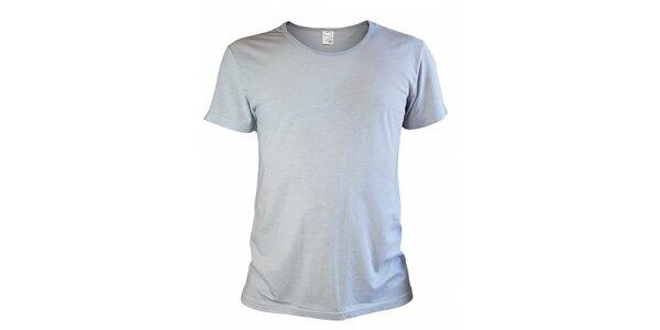 Pánské šedobílé tričko Mosmann