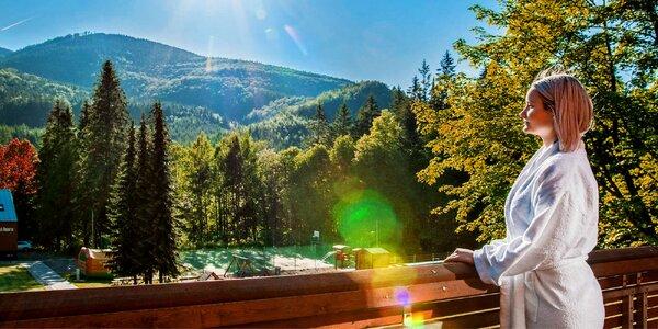 Léto v horském hotelu v Beskydech s wellness