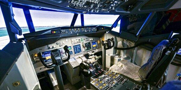 Staňte se pilotem: simulátor dopravního letadla
