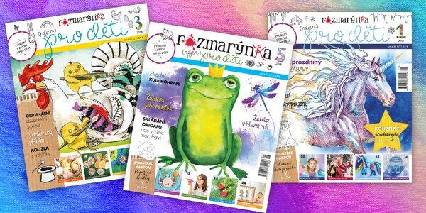 Roční předplatné časopisu Rozmarýnka pro děti