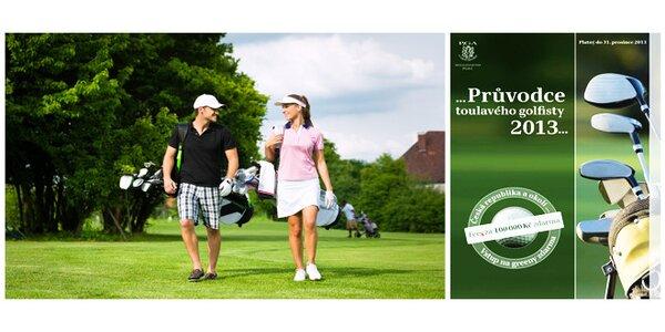 Průvodce toulavého golfisty 2013 včetně slevových kupónů. Poštovné zdarma