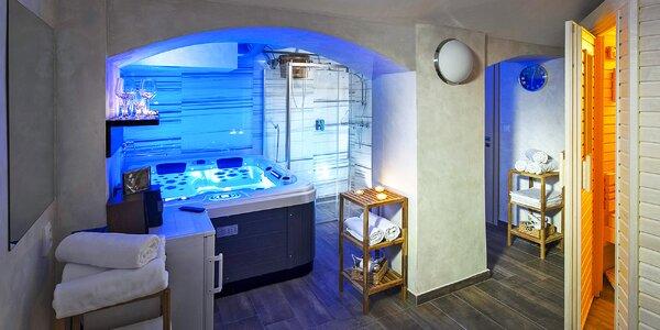 Privátní sauna nebo vířivka na 1 až 2 hodiny