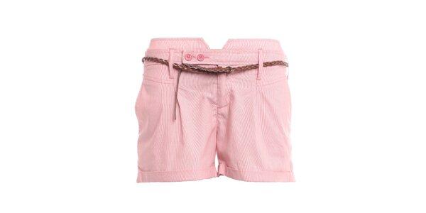 Dámské růžové kraťasy 2two