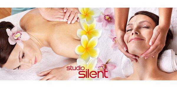 Havajská či indická masáž