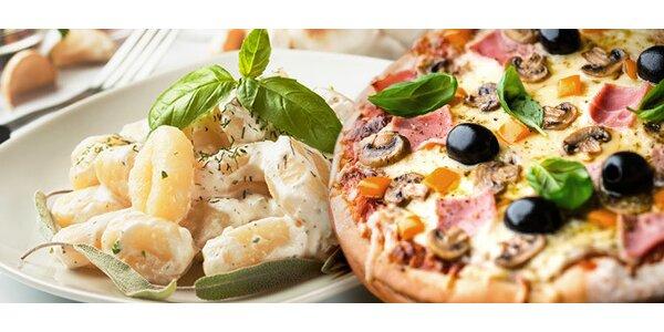 3chodové italské menu pro DVA