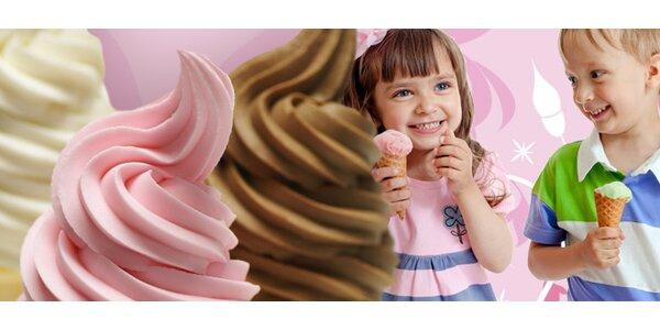 1 nebo 2 velké točené maxi zmrzliny