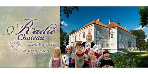 Rodinný program na zámku rytířů a princezen - zámku Radíč