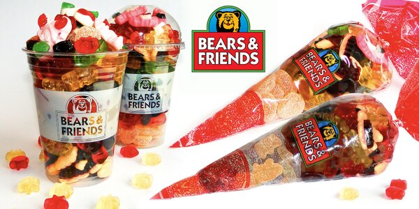 Fantastické želé bonbóny s ovocnou šťávou