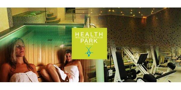 195 Kč za JEDEN volný vstup do areálu Health Parku.