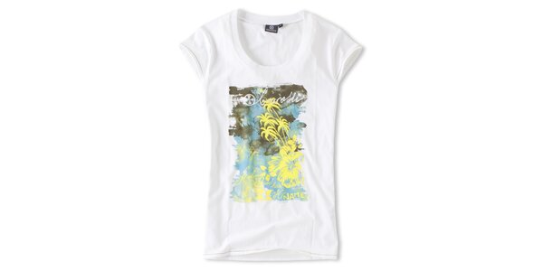 Dámské bílé tričko s potiskem Brunotti