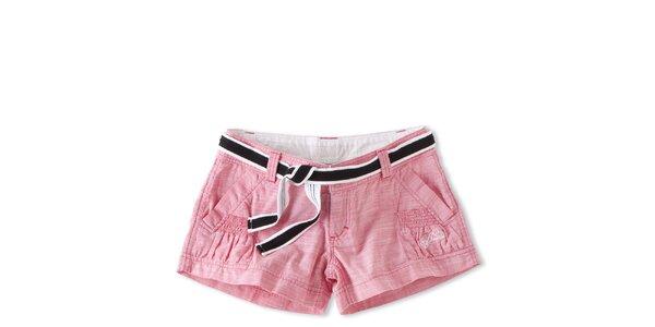 Dámské růžové krátké šortky Brunotti