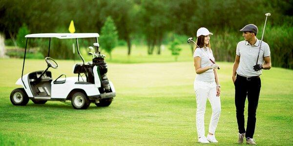 Dovolená pod Ještědem s polopenzí a golfem