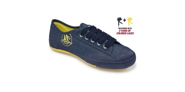 Modro-žluté tenisky Shulong