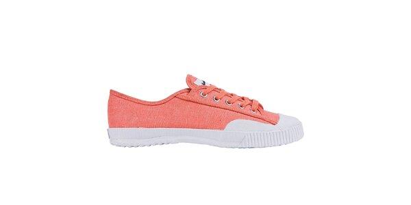 Dámské nízké oranžovo-bílé tenisky Shulong