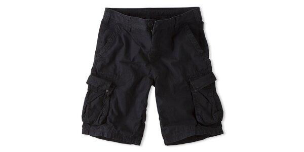 Pánské černé šortky Brunotti
