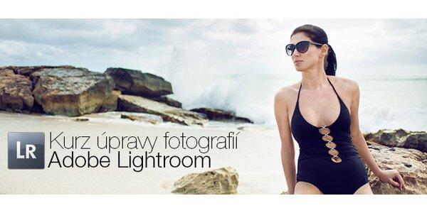 Jednodenní kurz na úpravu fotek v Adobe Lightroom