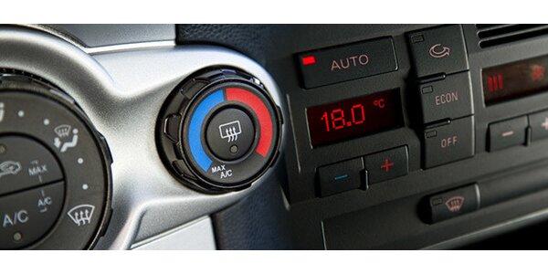 Kompletní plnění a čištění klimatizace automobilu