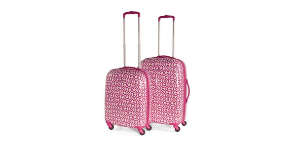 Set srdíčkových kufrů Agatha Ruiz de la Prada