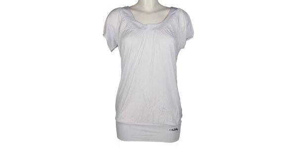 Dámské bílé prodloužené triko Authority