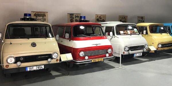 Rodinný vstup do Retro Auto Muzea