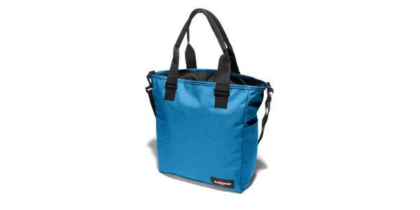 Dámská světle modrá taška Eastpak s černými detaily