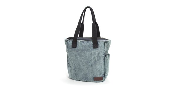 Dámská světle modrá denimová taška Eastpak