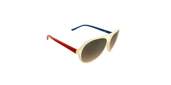 Dámské slonovinové sluneční brýle Jeepers Peepers