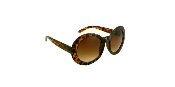 Dámské oválné želvovinové brýle Jeepers Peepers