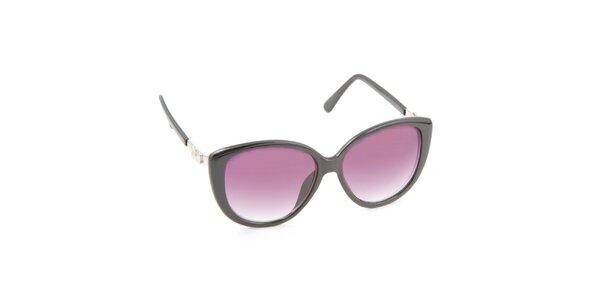 Dámské kočičí brýle s fialovými skly Jeepers Peepers