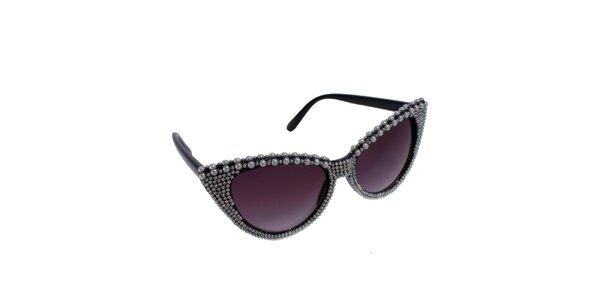 Dámské kočičí brýle s perličkami Jeepers Peepers