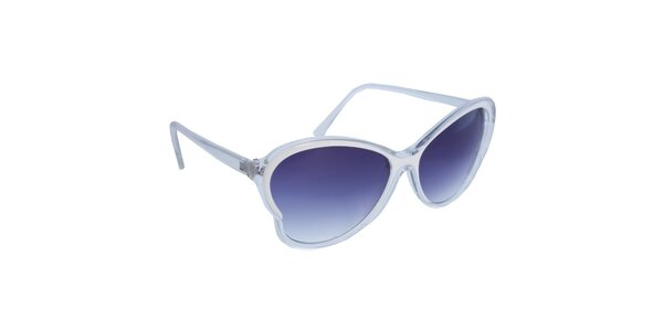 Dámské bílé retro brýle Jeepers Peepers