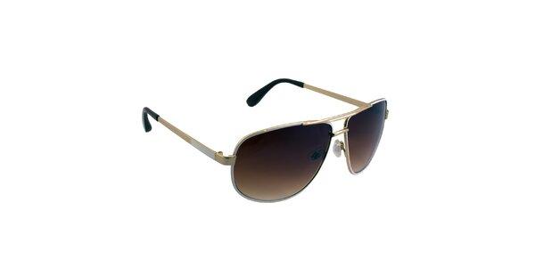 Kovové aviator brýle Jeepers Peepers