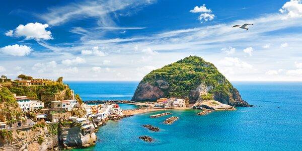 7 nocí s polopenzí na italském ostrově Ischia